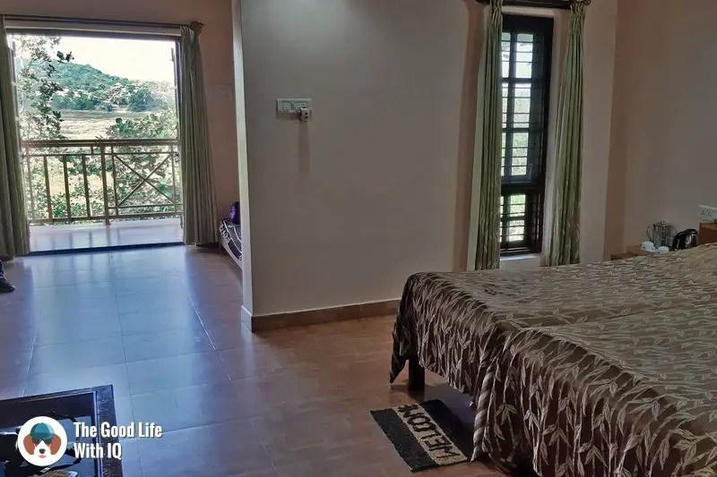 room - blackbuck resort, bidar