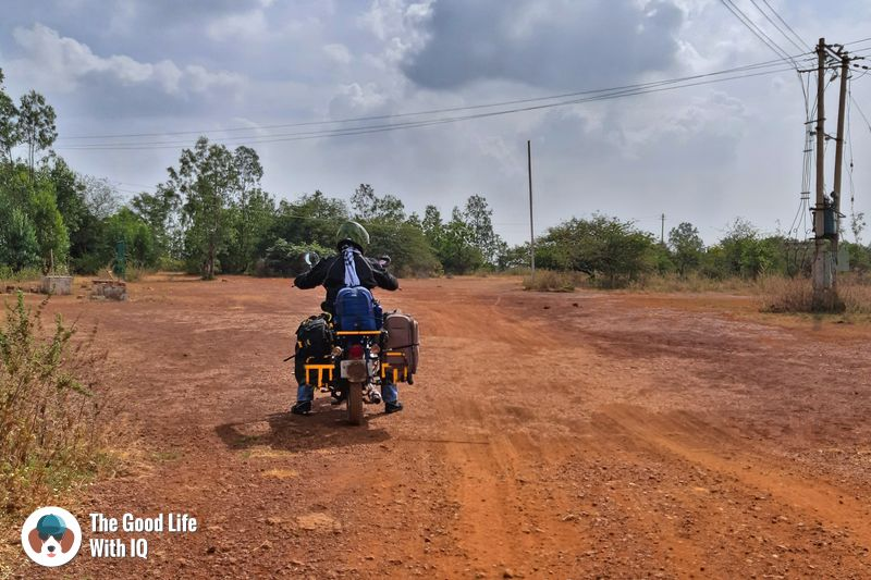 Ready to ride home - Hyderabad to Bidar road trip