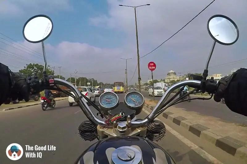 Traffic - Hyderabad to Bidar road trip