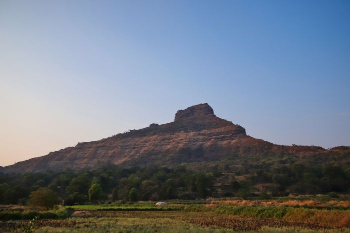 Tikona Fort from Rusticville, Pawna Lake - Great places to stay