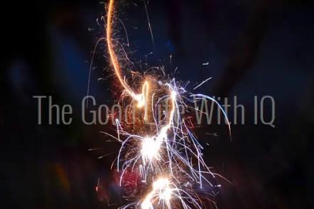 Sparkler on Diwali