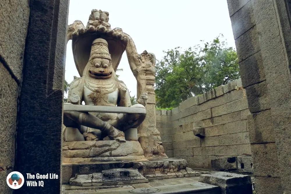 Lakshmi Narasimha Temple, Hampi