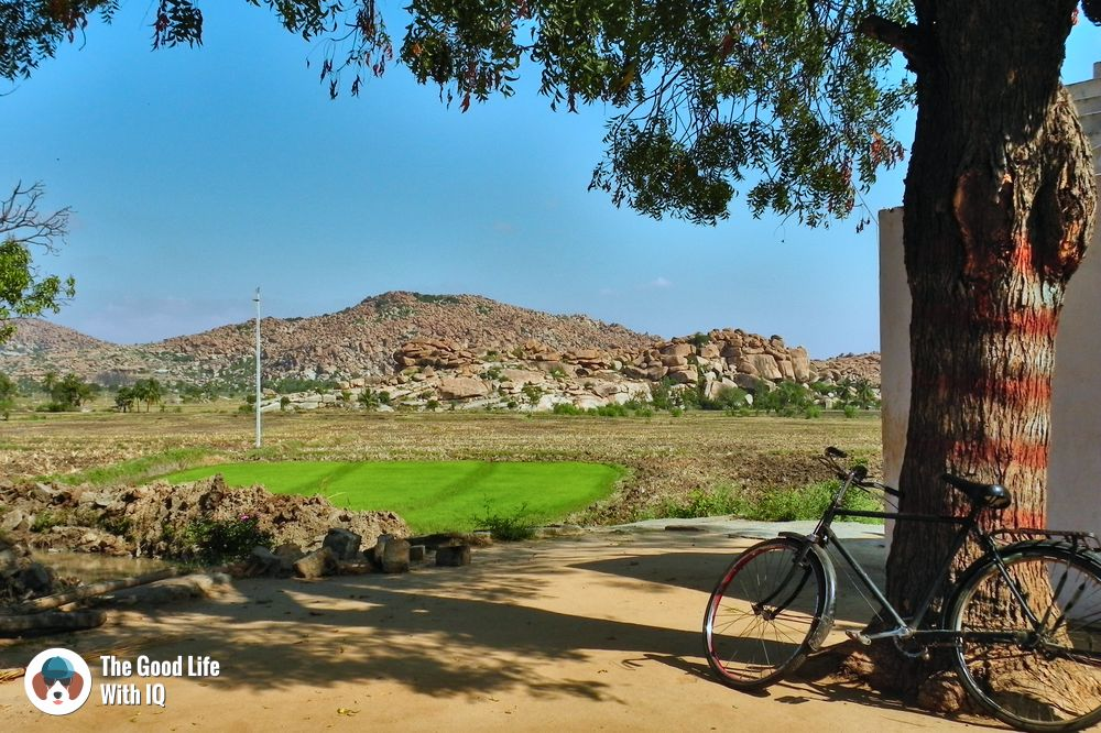 North side of the river - Hyderabad to Hampi road trip