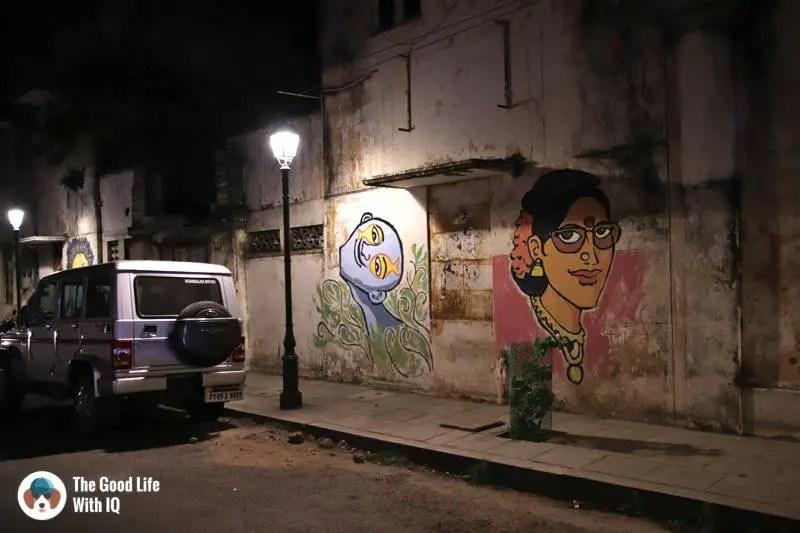 Street art - 3 day trip to Pondicherry
