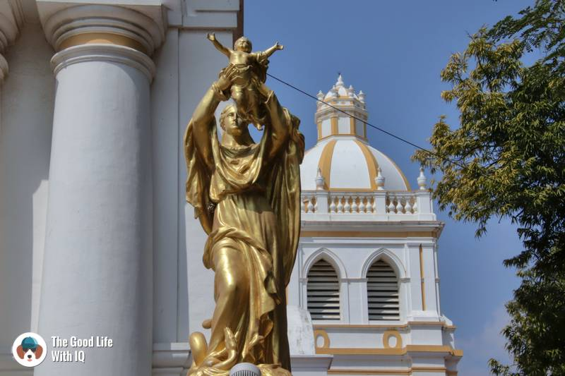 Statue of Mary and Jesus - Cathedral of Our Lady of Immaculate Conception