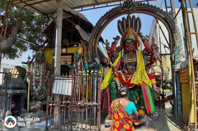 Periyachi Amman shrine, Pondicherry