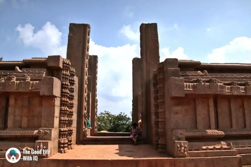 Raya Gopuram, Mahabalipuram