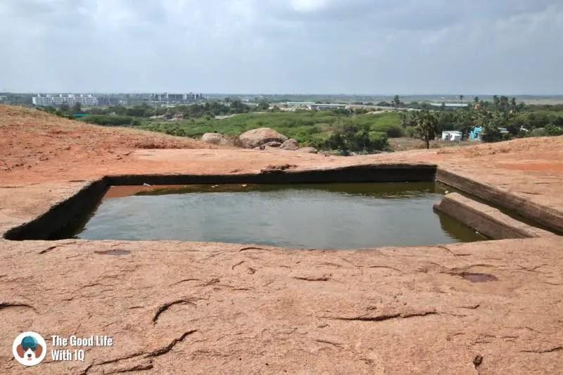Draupadi's Bath, Mahabalipuram