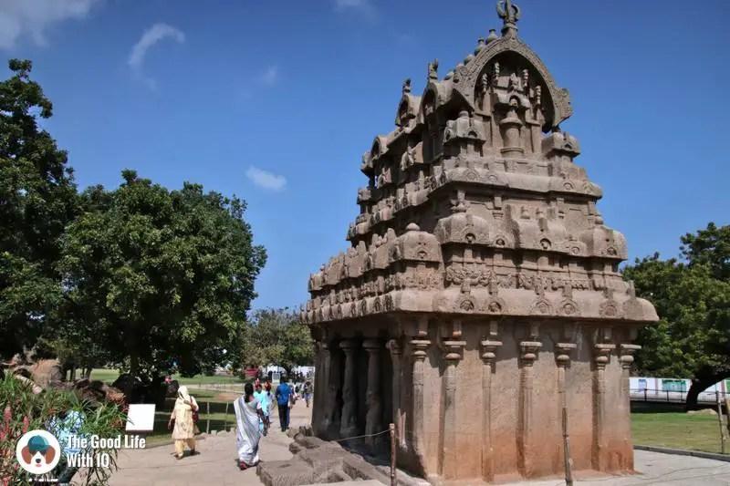 Panchapandava Mandapam, Mahabalipuram