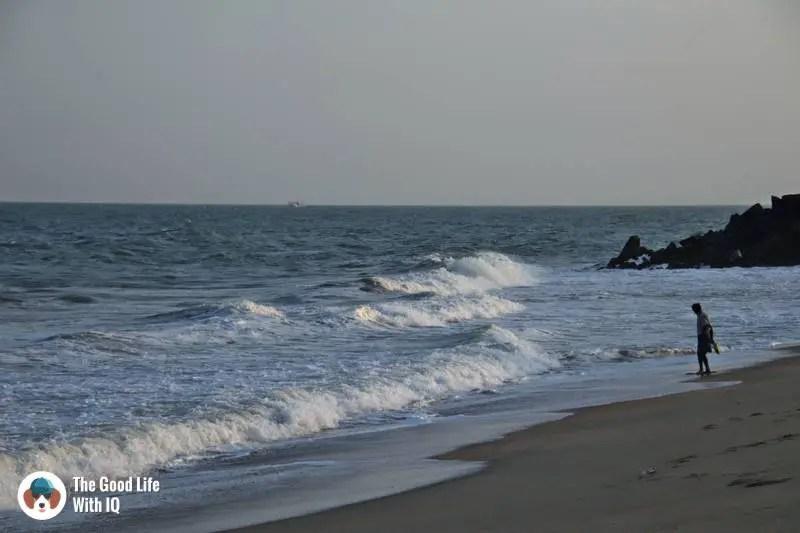 Serenity beach - 3 day trip to Pondicherry