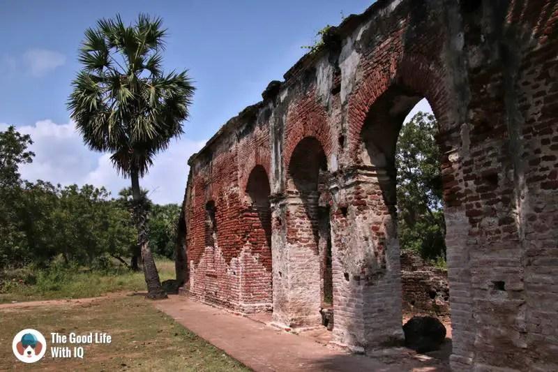 Arikamedu ruins - warehouse - 3 day trip to Pondicherry