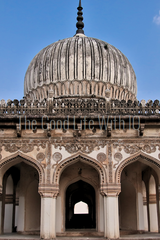 Vertical image of hakeems tomb in Hyderabad (preview)