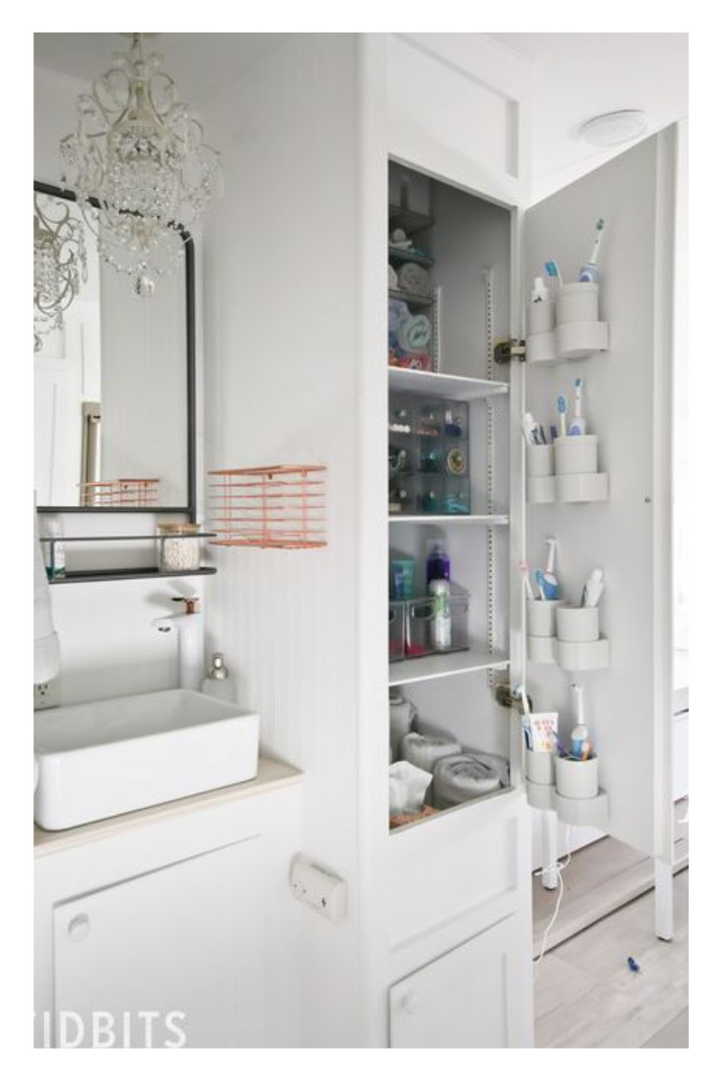 rv bathroom storage ideas