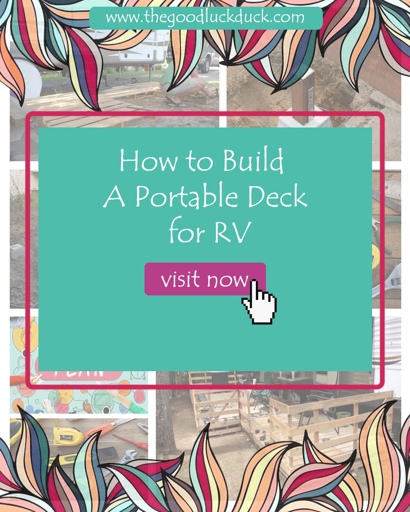 portable rv deck plans