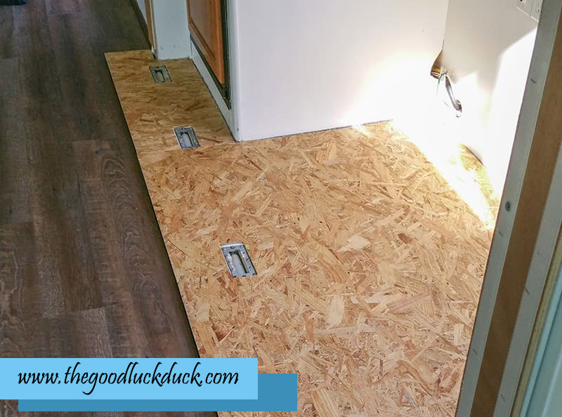 rv slide out floor replacement