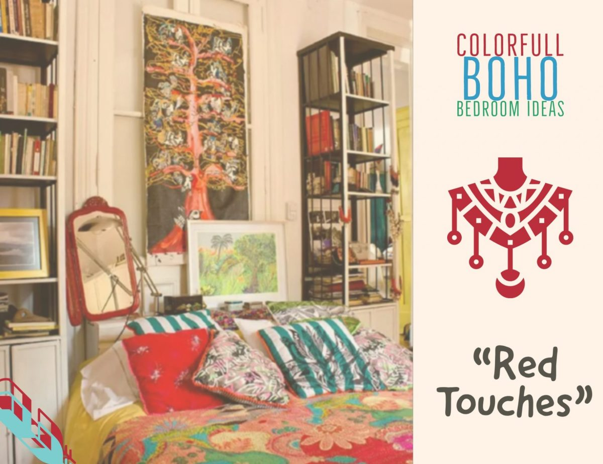 Colorful Boho Bedroom Ideas