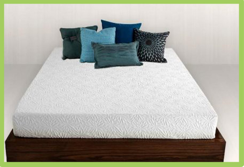 short queen memory foam mattress