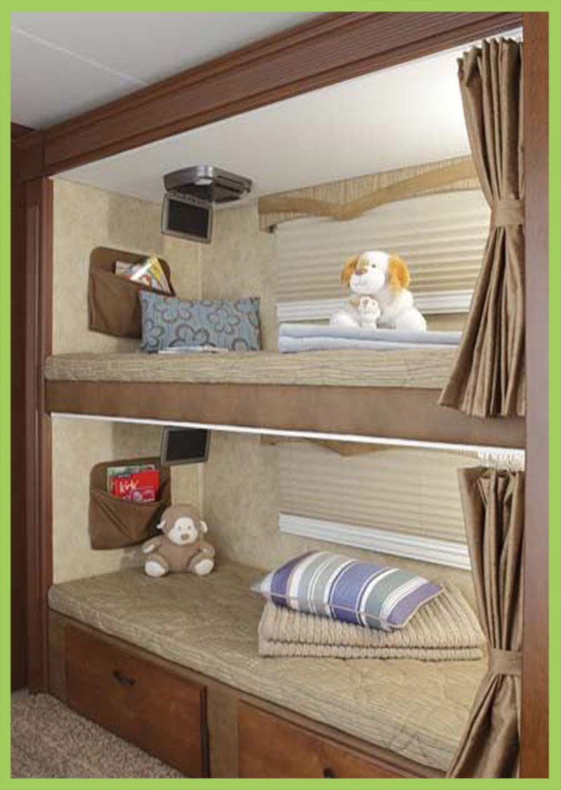 rv bed frame ideas