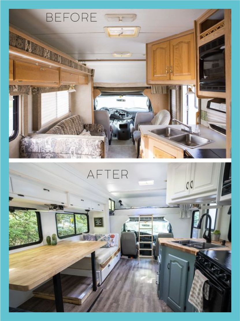 rv makeover pictures