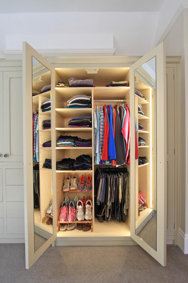 Bedroom Closet Mirror Doors