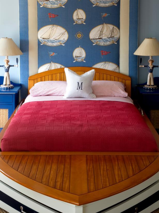 Sailboat-Inspired Boy's Room