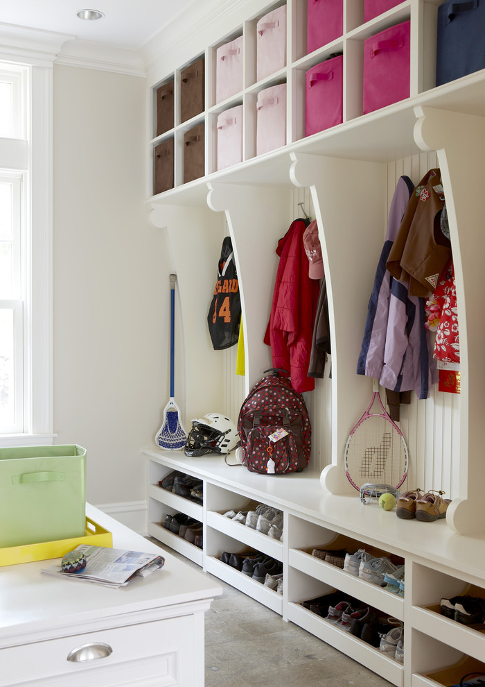 Use a coat rack for extra hanging space