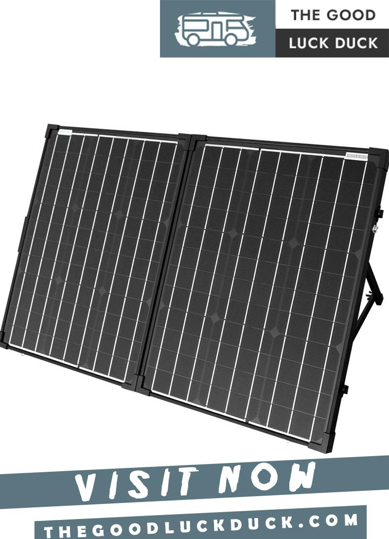 rv solar panels kit