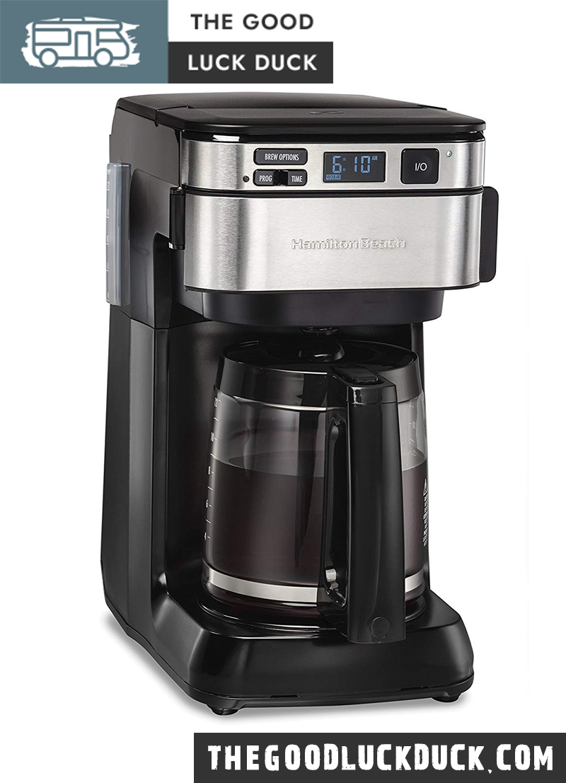 undermount coffee maker for rv