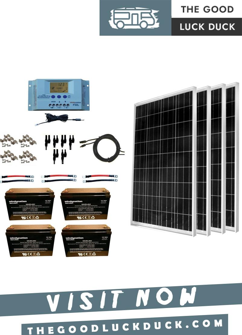 choose the best rv solar panels