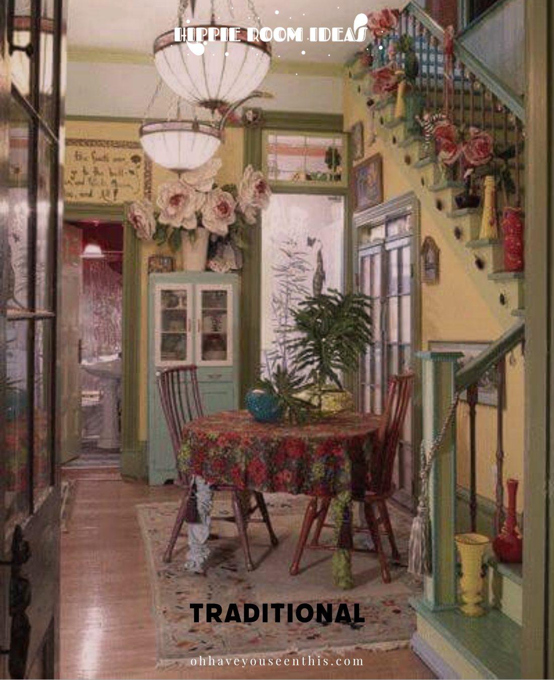 Hippie Dining Room Ideas