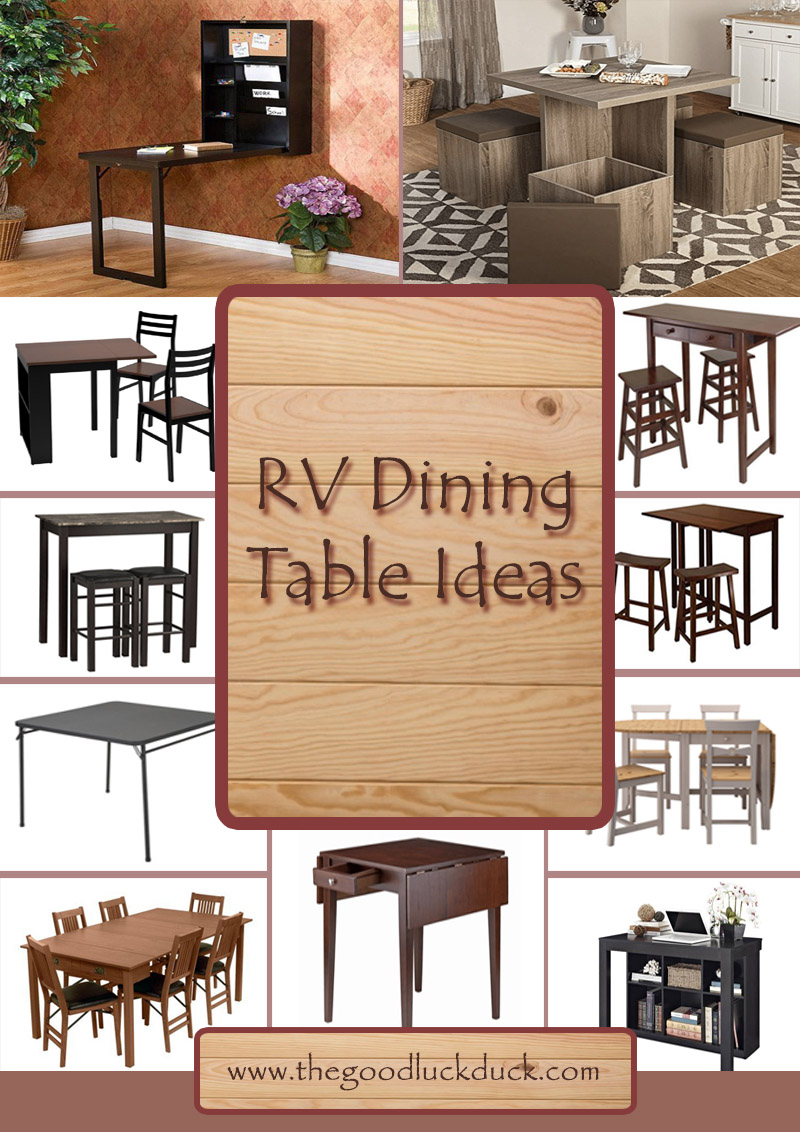 rv dining table bed