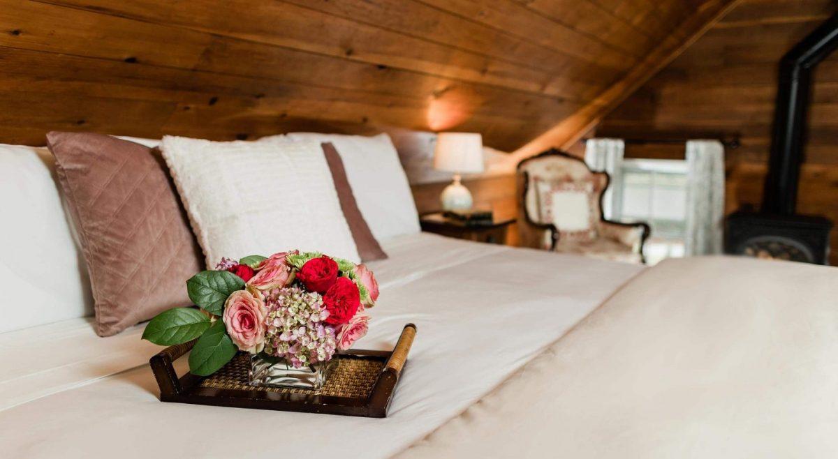 Romantic bedroom birthday ideas
