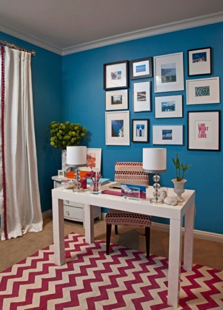 home office guest room layout