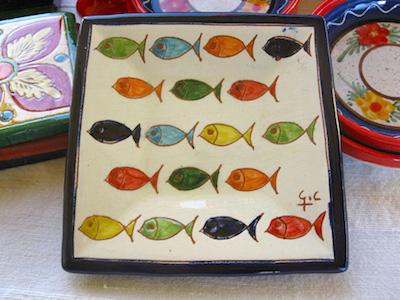 Fish symbolic of pisces