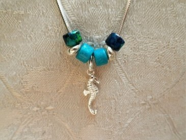 Seahorse lucky travel charm