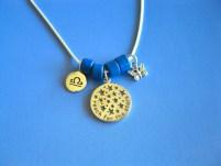 Zodiac star sign jewelry