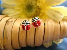 Ladybird charm jewellery