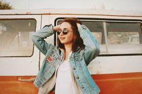 Girl traveller