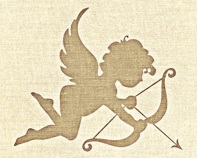 Symbol for love is Cupid