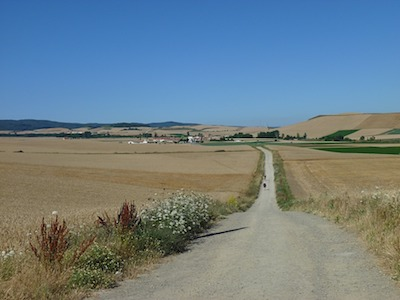 Jakobsweg Camino de Santiago route