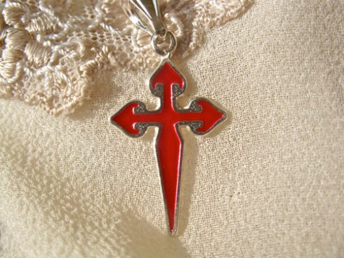 Red Camino cross of St James