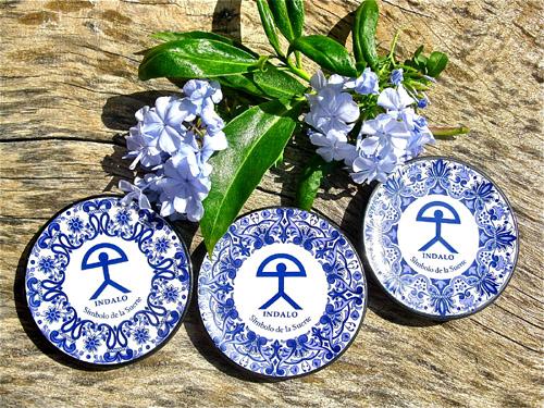 Spanish ceramic wall plate