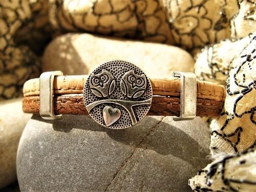 Guardian owl bracelet - small birthday present idea