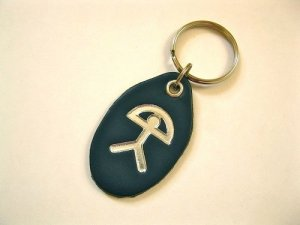 Keyfob for luck in Driving Test