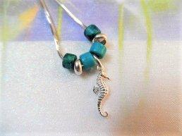 Lucky seahorse necklace gift