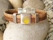 Camino de Santiago travel bracelet
