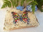 Butterfly ceramic New Year gift