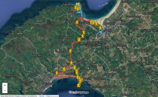 The Cornish Camino Celtic Way
