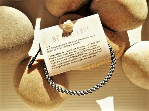 Health Band bracelet - blue