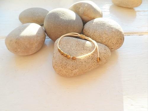 Health Band bracelet - cream copper